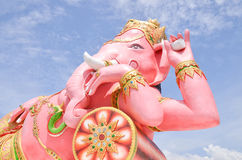 Ganesha Herre av framgång i Thailand Arkivfoton
