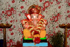 Ganesha Hindu god Stock Images