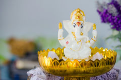 Ganesha Hindu God statue Royalty Free Stock Image