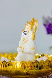 Ganesha Hindu God statue Stock Photo