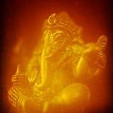 Ganesha i guld- Julian Bound Royaltyfri Fotografi