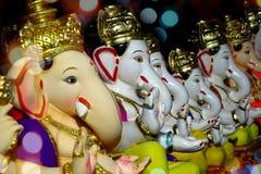 Ganesha im Verkauf Stockbild