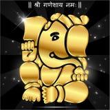 Ganesha indiano del dio, idolo di Ganesh illustrazione di stock