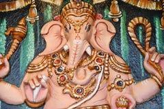 Ganesha - Indische God royalty-vrije stock foto's
