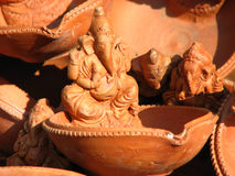 Ganesha Lamp Stock Image