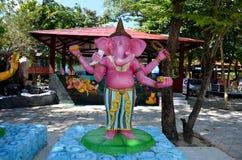 Ganesha Lord der Erfolgs-Statue bei Wat Bang Chak Lizenzfreies Stockfoto