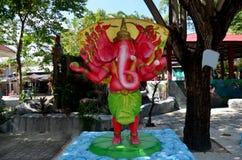Ganesha Lord der Erfolgs-Statue bei Wat Bang Chak Stockbilder