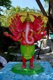 Ganesha Lord der Erfolgs-Statue bei Wat Bang Chak Lizenzfreies Stockbild