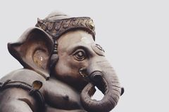 Ganesha Lord of Success is hindu god royalty free stock image