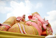 Ganesha : Lord of Success. At historical period Royalty Free Stock Images