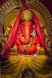 Ganesha the Lord of Success. Ganesha idol in Hindu temple. The Lord of Success, son of Shiva and Parvati, destroyer of evils and obstacles. He is also worshiped royalty free stock photo