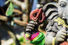An Ganesha made of stone in bali Royalty Free Stock Photography