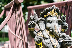 Ganesha made of stone in Thailand Royalty Free Stock Photography
