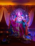 Ganesha - Mahimcha Raja - Ganesh Chaturti. This God of knowledge and the remover of obstacles is also the older son of Lord Shiva. Lord Ganesha is also called Royalty Free Stock Photography