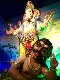 Ganesha - Parel charaja arkivfoton