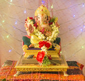 Ganesha Puja Royalty Free Stock Photo