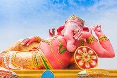 Ganesha rosa Fotografie Stock