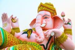 Ganesha rosa gigante Fotografia Stock Libera da Diritti