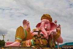Ganesha rosado grande Foto de archivo libre de regalías