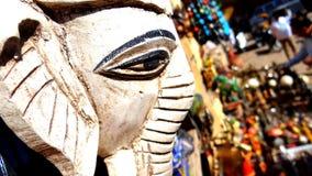 Ganesha ` s眼睛 库存图片