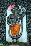 Ganesha in shrinathji form Royalty Free Stock Photo