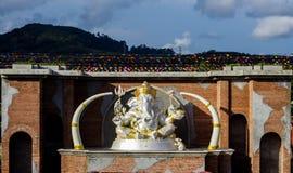 Ganesha skulptur royaltyfria foton