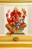 Ganesha statua i Hinduski bóg Obrazy Royalty Free