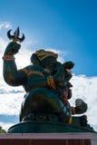 Ganesha statua i Hinduski bóg Zdjęcia Stock