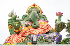 The Ganesha statue. Statue of Ganesha - the Elephant headed god of luck and prosperity royalty free stock image