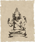 Ganesha statue Royalty Free Stock Photos