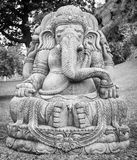 Ganesha statue in a beautiful mountain garden Stock Images