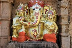 Ganesha Statue, Chittorgarh Royalty Free Stock Photography