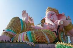 Ganesha Statue. Ganesha is God of Hinduism, who blessing you for success Royalty Free Stock Image