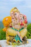 Ganesha statue the Hinduism very holy god. Royalty Free Stock Image