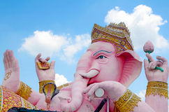 Ganesha statue the Hinduism very holy god. Stock Images