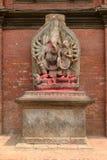 Ganesha statue at Royal palace in Patan Royalty Free Stock Photos