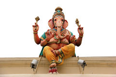 Ganesha Statue at the Sri Mariamman Temple Royalty Free Stock Photos