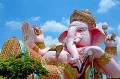 Ganesha Statue The Hinduism Very Holy God. Stock Photography