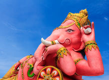 Ganesha statue was revered Stock Photos