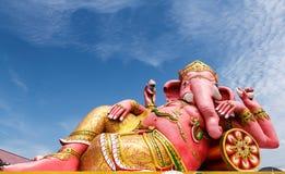 Ganesha statue was revered Royalty Free Stock Photo