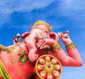 Ganesha statue was revered Royalty Free Stock Photos