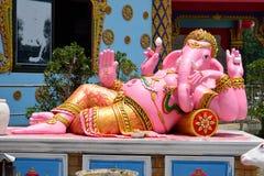 Ganesha Statue at Wat Hua Thanon Temple Royalty Free Stock Images