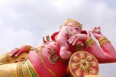 Ganesha staty Fotografering för Bildbyråer