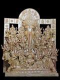Ganesha staty heliga guden för Hinduism den mycket Arkivbilder