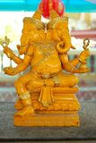 Ganesha-Tat. Stockbild