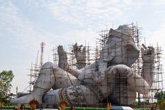 Ganesha under construction Royalty Free Stock Image
