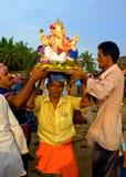 Ganeshafestival India Stock Foto's