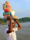 Ganeshafestival India Stock Fotografie
