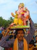 Ganeshafestival India Royalty-vrije Stock Foto