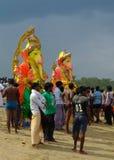 Ganeshafestival India Royalty-vrije Stock Foto's